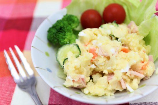 ポテトサラダは卵なしマヨネーズなしでも良い?玉ねぎは?